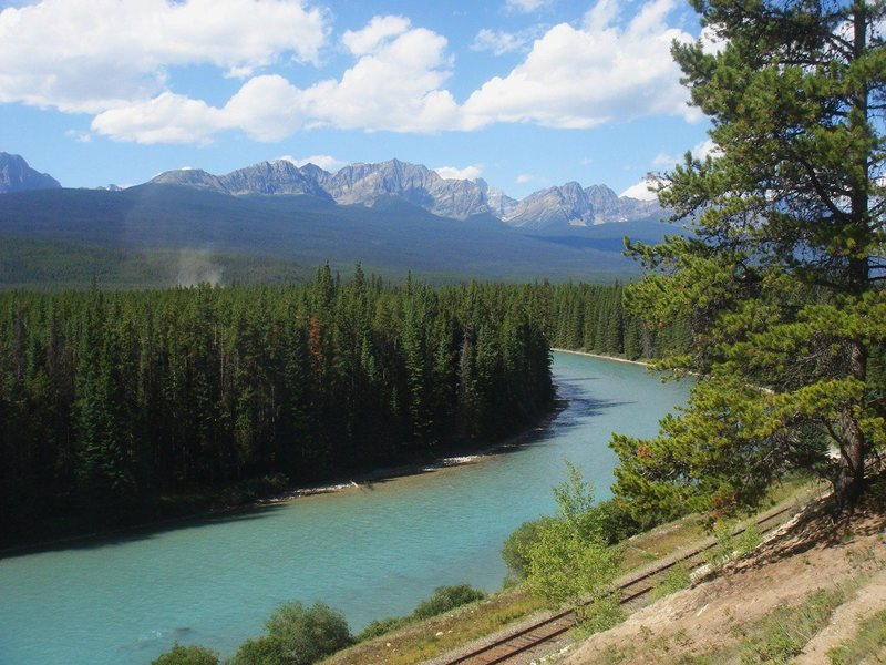 Bow River, Bow Valley, Alberta<br>