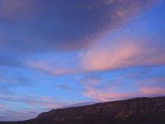 Rock Climbing Photo: Early morning, Red Rock, NV