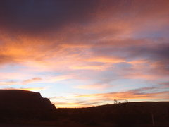 Rock Climbing Photo: Sunrise from camp.