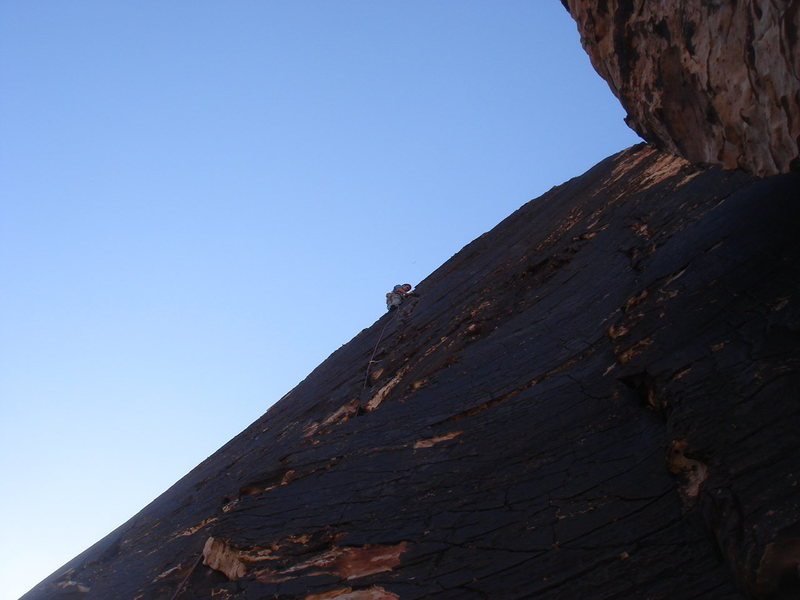 Me leading pitch 5, fun, fun!<br> <br> photo by Jerry Miller