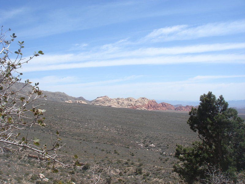 Calico Hills from Tunnel Vision.