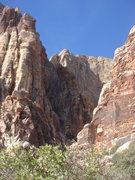 Rock Climbing Photo: The mouth of Juniper Canyon.