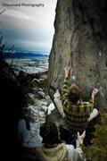 Rock Climbing Photo: Airship Arete @ The Desert, Boulder Batholith, Mon...