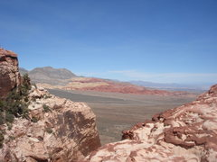 Rock Climbing Photo: Calico Hills from the top of Olive Oil.