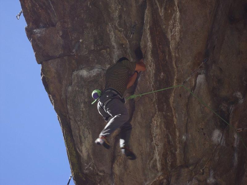 Rock Climbing Photo: Lettin' 'em cut.