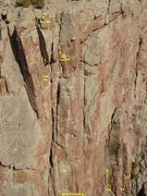 Rock Climbing Photo: Discription photo of Hang on Loosely with the cool...