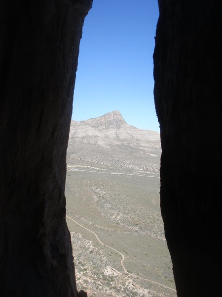 Turtlehead Peak from pitch 5, Tunnel Vision.