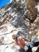 "Rock Climbing Photo: Make sure to ""Gear"" up! I left the groun..."