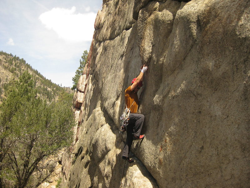 Rock Climbing Photo: Old Custer testing the Cape of Good Hope on Africa...