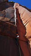 Rock Climbing Photo: The wide slot.