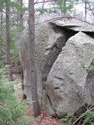 Rock Climbing Photo: The Brilliant Boulder
