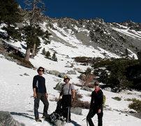 Rock Climbing Photo: Baldy's South Bowl, mid April