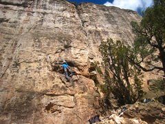 Rock Climbing Photo: Starting up Stick It.
