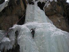 Rock Climbing Photo: Ice Climbing Estes Park, CO