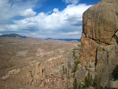 Rock Climbing Photo: Baby Helen's guarding a stormy S Platte.
