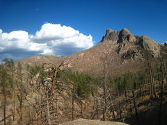 Rock Climbing Photo: Sheeprock, Acid Rock and Helen's Dome from their p...
