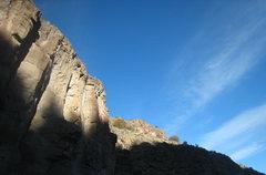 Rock Climbing Photo: Racing shadows on Houston