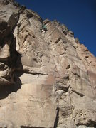 Rock Climbing Photo: Good route, spicy start