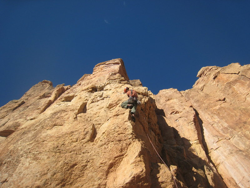 Rock Climbing Photo: One of my favorites at Shelf.