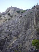 Rock Climbing Photo: The FA, June 13, 2005.