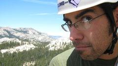 Rock Climbing Photo: profile shot, 'blown away', daff dome, tuolumne.