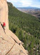 Rock Climbing Photo: Photo credit: Dancesatmoonrise.  Micah Morgan bela...