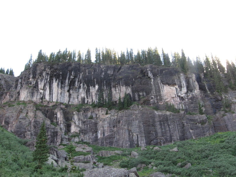 Rock Climbing Photo: new conglomerate area