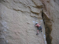 "Rock Climbing Photo: Matt Johnson on ""Heresy"" at Smith Rock, ..."