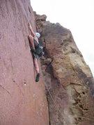 "Rock Climbing Photo: Matt Johnson starting on ""Ride the Lightning&..."