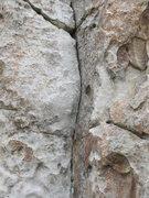 Rock Climbing Photo: Intermediate section of Private Idaho.