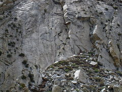 Rock Climbing Photo: overview of Avalanche Wall.