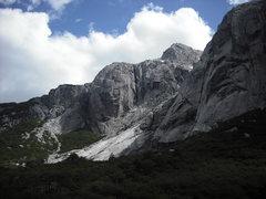 Rock Climbing Photo: Pata de Pato, Cara de Papa (La Bala) y Cerro Lagun...