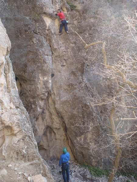 Climbing Planet Janet.