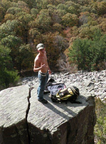Rock Climbing Photo: Wisconsin trip
