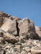 Rock Climbing Photo: Tidbit (5.10a), Joshua Tree NP
