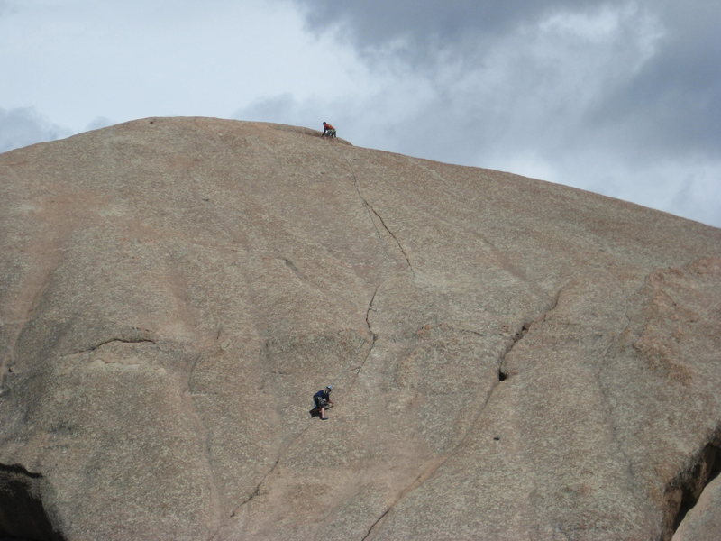Rock Climbing Photo: Upper Acid.