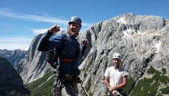 Rock Climbing Photo: FA celebrating!