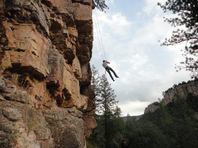 me in mid air