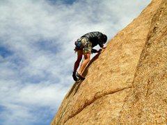 Rock Climbing Photo: Balancing!