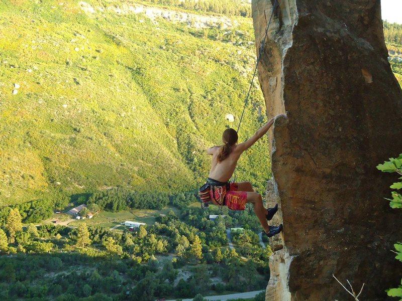 Quite an aesthetic climb!