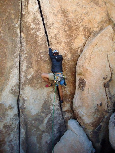 Rock Climbing Photo: A tad short, but a fun route!