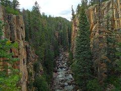 Rock Climbing Photo: Beautiful, high altitude, Summer cragging.