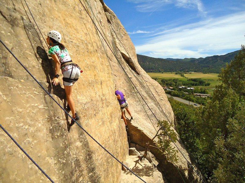 Rock Climbing Photo: Elementary Wall.