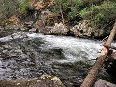 Rock Climbing Photo: Whitetop Laurel Creek... Swimming holes, scenic ra...
