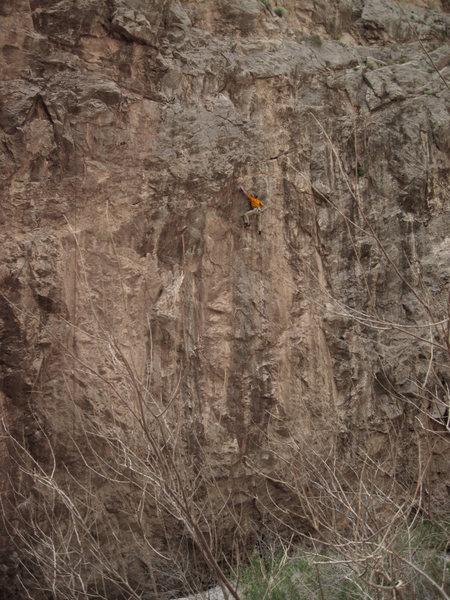 Arrow Canyon Dirty Wall