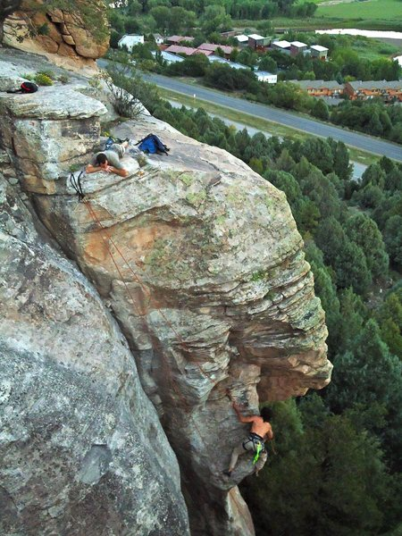 Rock Climbing Photo: Xander TR's Crank Corner and Turnaround Corner sha...