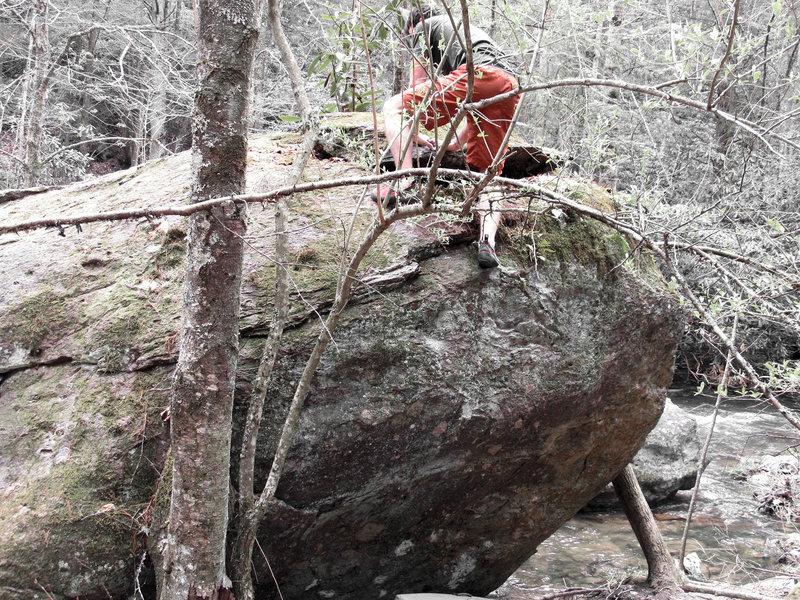 """Aaron James Parlier on """"Creek Junction Crimpin'"""" (v2/3)"""