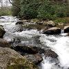 Creek beside the Creekside Boulder