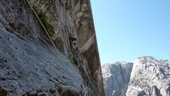 Rock Climbing Photo: Somewhere on Pitch 3?