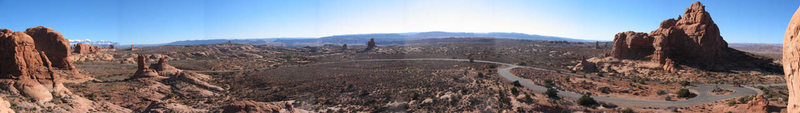 "Rock Climbing Photo: Panoramic view from the top of ""Owl Rock&quot..."